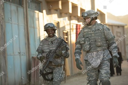 Skye P. Marshall as Sgt. Shonda Peterson, Justin Bruening as D Turner