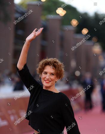 Lucrezia Lante della Rovere arrives for the screening of 'La Grande Guerra' at the 13th annual Rome Film Festival, in Rome, Italy, 26 October 2018. The film festival runs from 18 to 28 October.