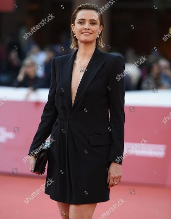 Nathalie Rapti Gomez arrives for the screening of 'La Grande Guerra' at the 13th annual Rome Film Festival, in Rome, Italy, 26 October 2018. The film festival runs from 18 to 28 October.