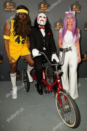 Stock Picture of Rickie Haywood-Williams, Melvin O'Doom and Charlie Hedge