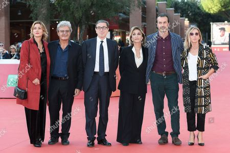 Mario Martone, Ippolita Di Majo, Antonio Monda, Anna Bonaiuto, Andrea Occhipinti and Concita De Gregorio