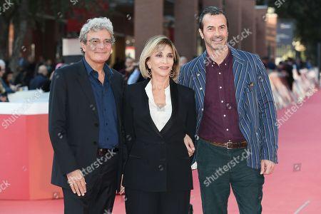 Stock Photo of Mario Martone, Anna Bonaiuto, Andrea Occhipinti