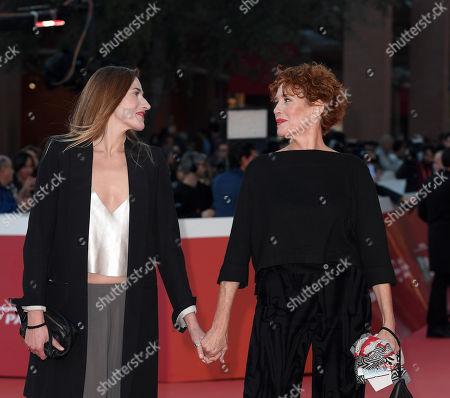 Ilaria Genatiempo and Lucrezia Lante Della Rovere