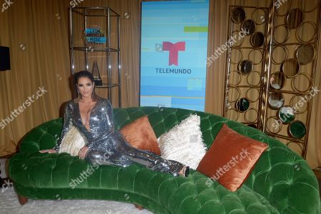 Editorial picture of Latin American Music Awards , Backstage, Los Angeles, USA - 25 Oct 2018