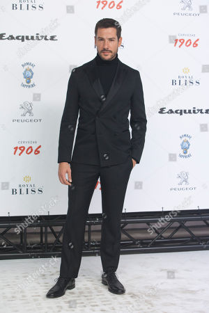 Editorial image of Esquire 'Men of the Year' awards, Madrid, Spain - 25 Oct 2018