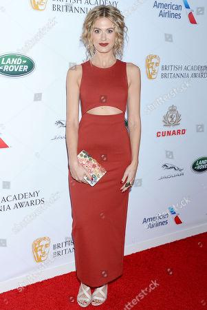 Editorial picture of British Academy Britannia Awards, Los Angeles, USA - 26 Oct 2018