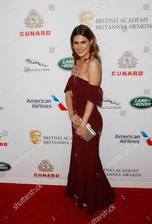 Editorial photo of British Academy Britannia Awards, Los Angeles, USA - 26 Oct 2018