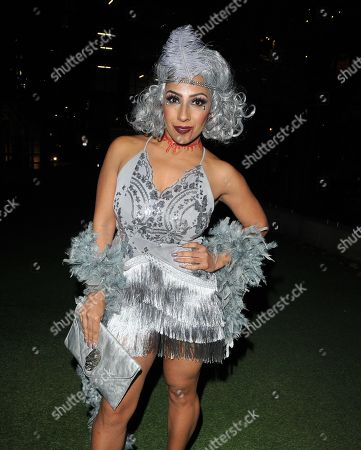 Editorial image of The Devonshire Club Halloween Party, London, UK - 26 Oct 2018