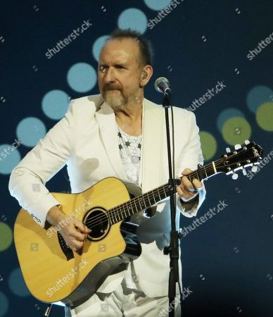Stock Photo of Colin Hay of Men At Work performs at the Closing Ceremony at the Invictus Games at the Qudos Bank Arena