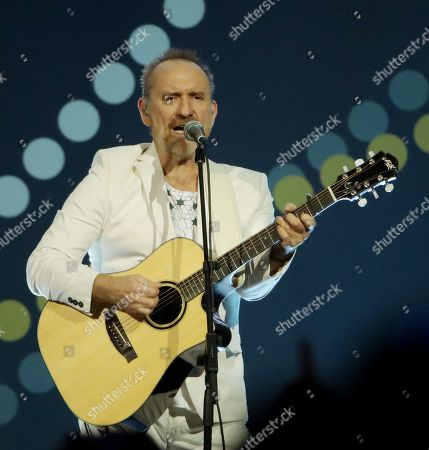Stock Image of Colin Hay of Men At Work performs at the Closing Ceremony at the Invictus Games at the Qudos Bank Arena