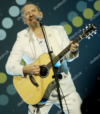 Stock Picture of Colin Hay of Men At Work performs at the Closing Ceremony at the Invictus Games at the Qudos Bank Arena