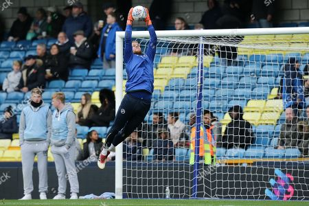Millwall goalkeeper Ben Amos during the EFL Sky Bet Championship match between Millwall and Ipswich Town at The Den, London