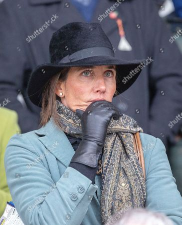 Stock Photo of Anna Lisa Balding the wife of trainer Andrew Balding.