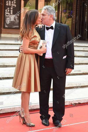 Stock Image of Paolo Rossi Pisu with Marta Miniucchi