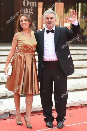 Stock Photo of Paolo Rossi Pisu with Marta Miniucchi