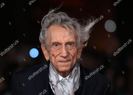 Roberto Herlitzka arrives for the premiere of 'Notti magiche' at the 13th annual Rome Film Festival, in Rome, Italy, 27 October 2018. The film festival runs from 18 to 28 October.