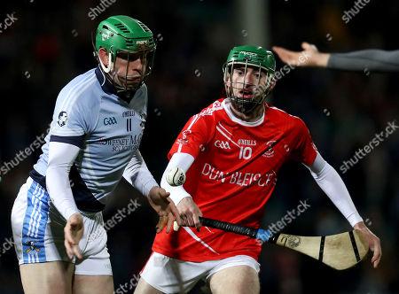 Doon vs Na Piarsaigh. Na Piarsaigh's Shane Dowling and Patrick Cummins of Doon