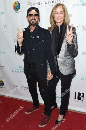 Ringo Starr, Barbara Bach. Ringo Starr, left, and Barbara Bach attend the Friendly House 29th annual Awards Luncheon at the Beverly Hilton, in Beverly Hills, Calif
