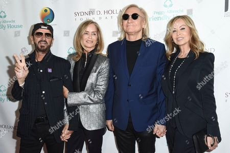 Ringo Starr, Barbara Bach, Joe Walsh, Marjorie Bach. Ringo Starr, from left, Barbara Bach, Joe Walsh and Marjorie Bach attend the Friendly House 29th annual Awards Luncheon at the Beverly Hilton, in Beverly Hills, Calif