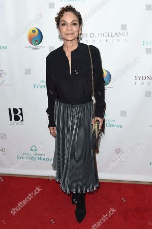 Stock Picture of Jasmine Guy attends the Friendly House 29th Annual Awards Luncheon at the Beverly Hilton, in Beverly Hills, Calif