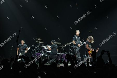 Metallica - Robert Trujillo, Lars Ulrich, James Hetfield and Kirk Hammett