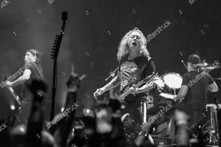 Metallica - Robert Trujillo, Kirk Hammett and Lars Ulrich