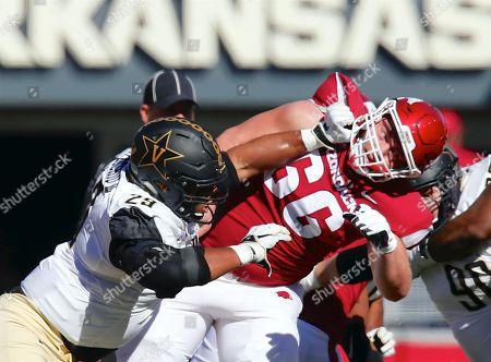 Editorial image of NCAA Football 2018 Vanderbilt vs Arkansas, Fayetteville, USA - 27 Oct 2018
