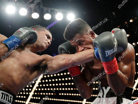 Patrick Day, Elvin Ayala. Elvin Ayala, left, fights Patrick Day during the fifth round of a WBC Continental Americas super welterweight championship boxing match, in New York. Day won the fight
