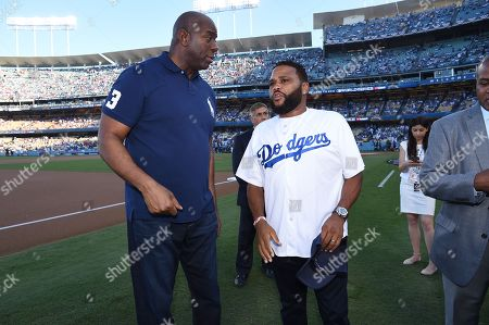 """Earvin """"Magic"""" Johnson, Anthony Anderson"""