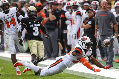 Editorial picture of NCAA Football Oregon State vs Colorado, Boulder, USA - 27 Oct 2018