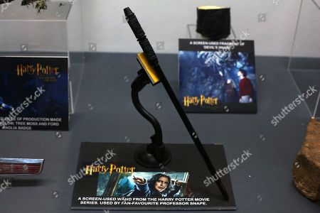 Stock Photo of Magic Wand used by Professor Snape (Alan Rickman) in Harry Potter films