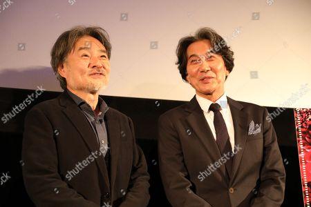 Stock Image of Kiyoshi Kurosawa and Koji Yakusho