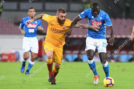 Editorial photo of Napoli-Roma, Naples, Italy - 28 Oct 2018