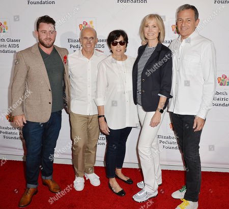 Editorial picture of Elizabeth Glaser Pediatric AIDS Foundation 30th Anniversary, Arrivals, Los Angeles, USA - 28 Oct 2018