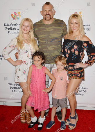 Chuck Liddell, Heidi Northcott and family