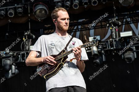 Brian Macdonald of Judah & The Lion performs at the Voodoo Music Experience in City Park, in New Orleans