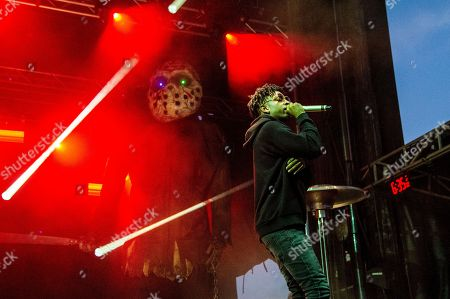 21 Savage, Shayaa Bin Abraham-Joseph. 21 Savage performs at the Voodoo Music Experience in City Park, in New Orleans