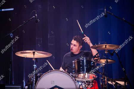 Matt Helders of Arctic Monkeys performs at the Voodoo Music Experience in City Park, in New Orleans