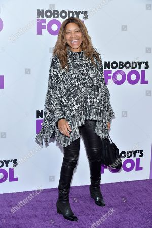 Editorial image of 'Nobody's Fool' film premiere, New York, USA - 28 Oct 2018