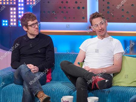 Editorial image of 'Sunday Brunch' TV show, London, UK - 28 Oct 2018