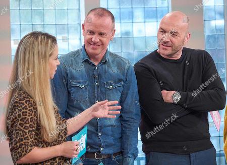 Rebecca Seal, Tim Lovejoy and Simon Rimmer
