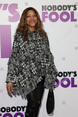 Editorial picture of 'Nobody's Fool' film premiere, Arrivals, New York, USA - 28 Oct 2018