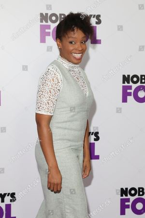 Editorial photo of 'Nobody's Fool' film premiere, Arrivals, New York, USA - 28 Oct 2018