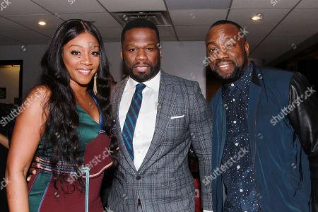 Tiffany Haddish, 50 Cent, Malik Yoba
