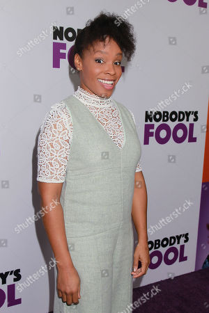 Editorial image of Paramount Pictures, Paramount Players, Tyler Perry Studios and BET Films Present the World Premiere of 'Nobody's Fool', New York, USA - 28 Oct 2018