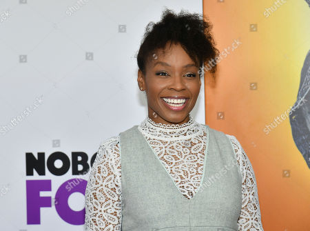 """Stock Photo of Amber Ruffin attends the world premiere of """"Nobody's Fool"""" at AMC Loews Lincoln Square, in New York"""