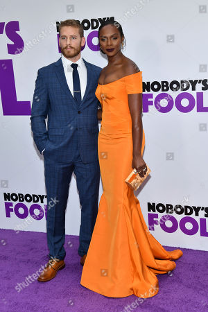 """Nicholas James, Tika Sumpter. Nicholas James and Tika Sumpter attends the world premiere of """"Nobody's Fool"""" at AMC Loews Lincoln Square, in New York"""