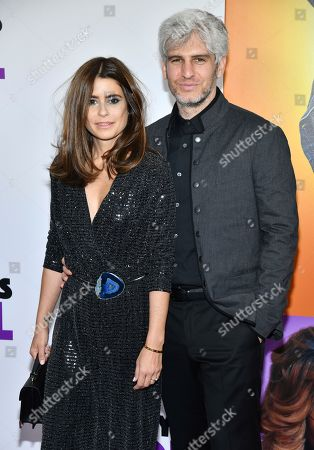 """Max Joseph, Priscila Joseph. Priscila Joseph and Max Joseph attend the world premiere of """"Nobody's Fool"""" at AMC Loews Lincoln Square, in New York"""