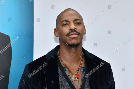 """Mehcad Brooks attends the world premiere of """"Nobody's Fool"""" at AMC Loews Lincoln Square, in New York"""