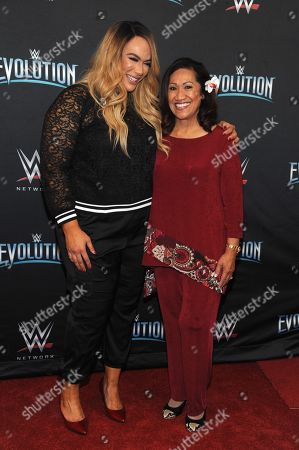 Editorial picture of WWE Evolution, New York, USA - 28 Oct 2018